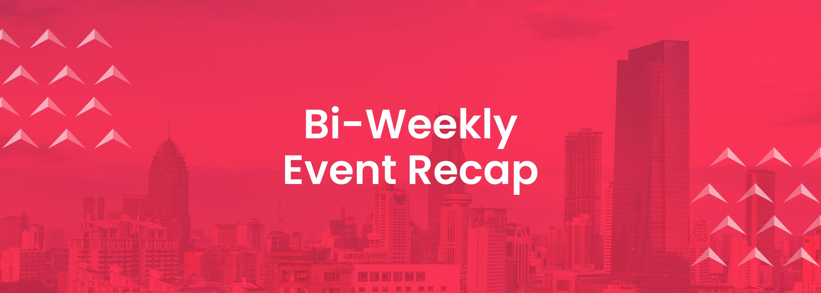 Event Highlights, Event Recap, Events calendar